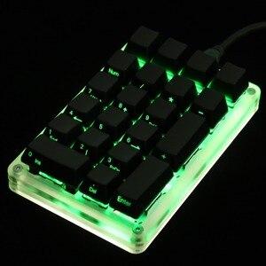 Image 5 - 21 23 24 مفتاح YMDK برمجة دعم وظيفة الماكرو MX الكرز مفاتيح لوحة المفاتيح الميكانيكية Numpad ل LOL Battlegrounds