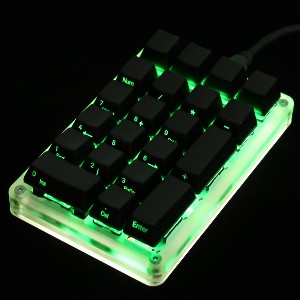 Image 5 - 21 Key YMDK Programmable Support Macro Function MX Cherry Gateron Switches Mechanical Keyboard Numpad For LOL Battlegrounds-in Keyboards from Computer & Office