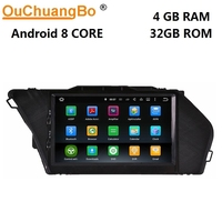 Ouchuangbo android 8.0 car stereo radio recorder for Benz GLK X204 2008 2014 with gps navigation mp3 wifi 8 core 4GB+32GB