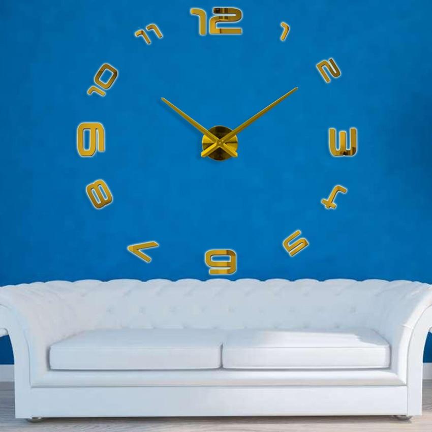 2020 Ora e re e heshtur e murit Saat Dekorimi i stilit klasik të - Dekor në shtëpi - Foto 6