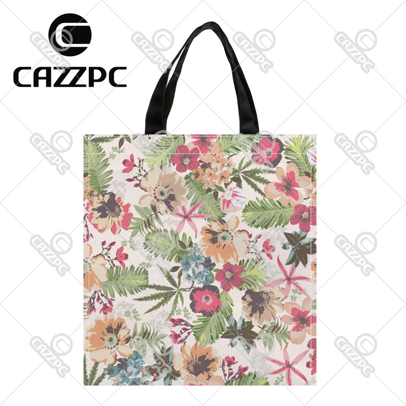 a74de23d27 Detail Feedback Questions about Pink Vintage Flower Rose Shivering Print  Nylon Oxford Reusable Shopping Bag Gift Foldable Bag Eco Bag Pack of 2 on  ...
