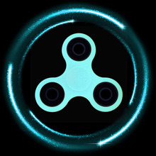 22 Types Glowing Hand Spinner Plastic EDC Tri-Spinner Fidget Toys For Autism and ADHD Anxiety Stress Relief Focus Toys Kid Gift