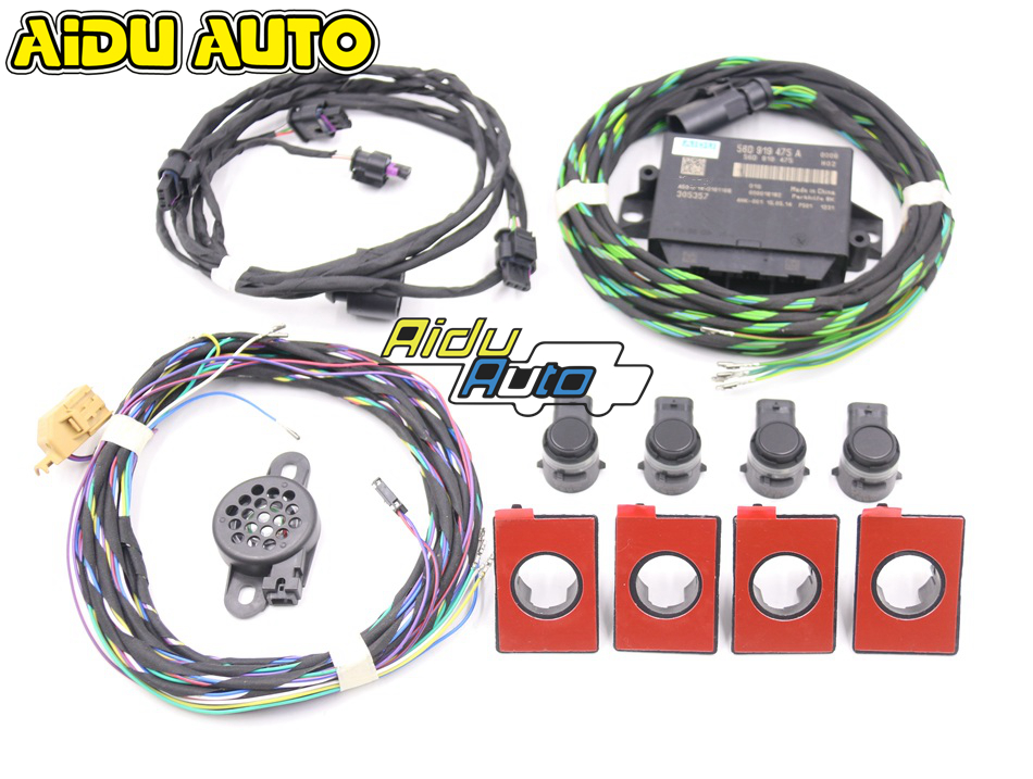 FRONT 4K TO 8K OPS PARKING PDC KIT WITHOUT PDC PARKING BUTTON FOR VW PQ TIGUAN