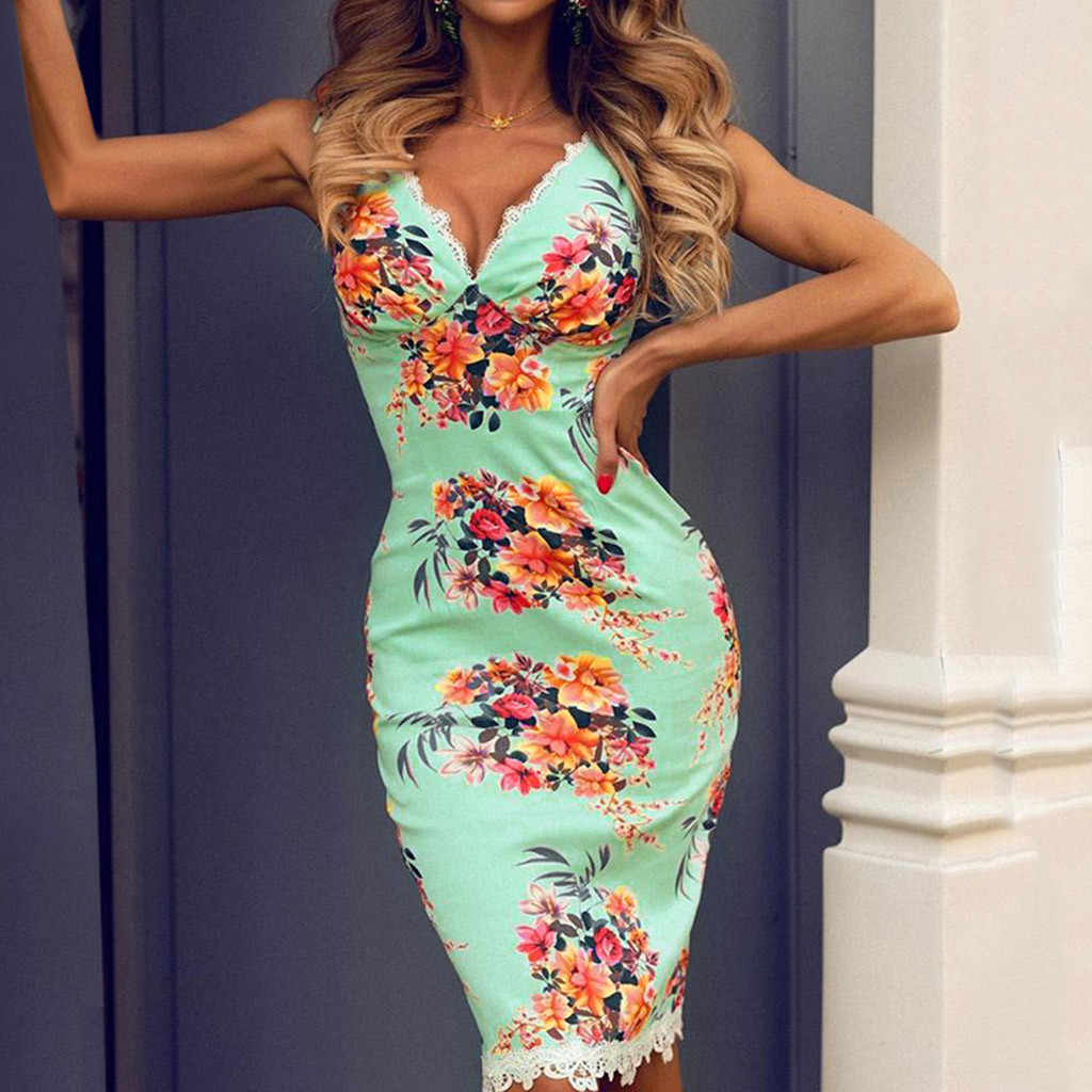 Superb Sexy Women S Dress Attractive Sleeveless Printed Lace Patchwork Dresses Fashion Ladies Sheath Party Wedding Guest Dress Aliexpress,Miami Wedding Dress