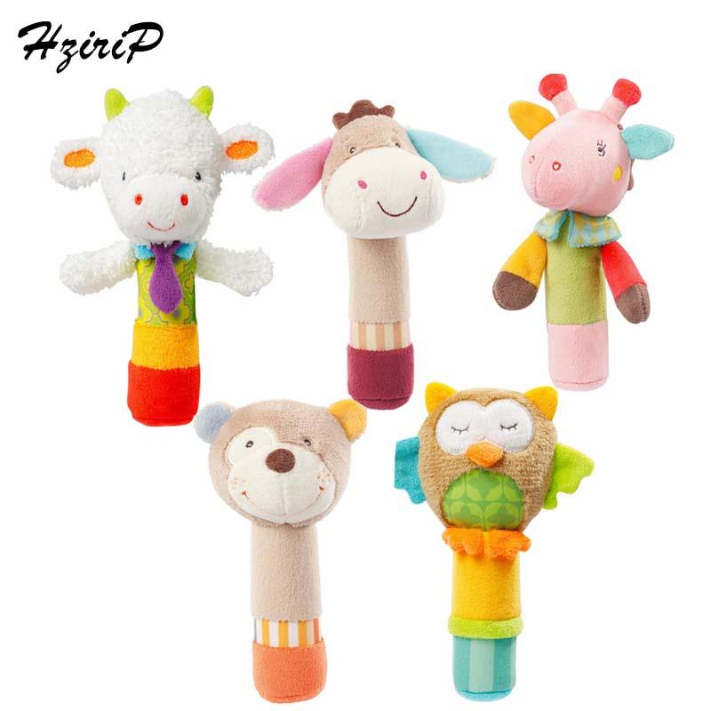HziriP Yeni Səliqəli Şirin Cizgi Film Plush Oyuncaq BB Stick - Körpələr üçün oyuncaqlar
