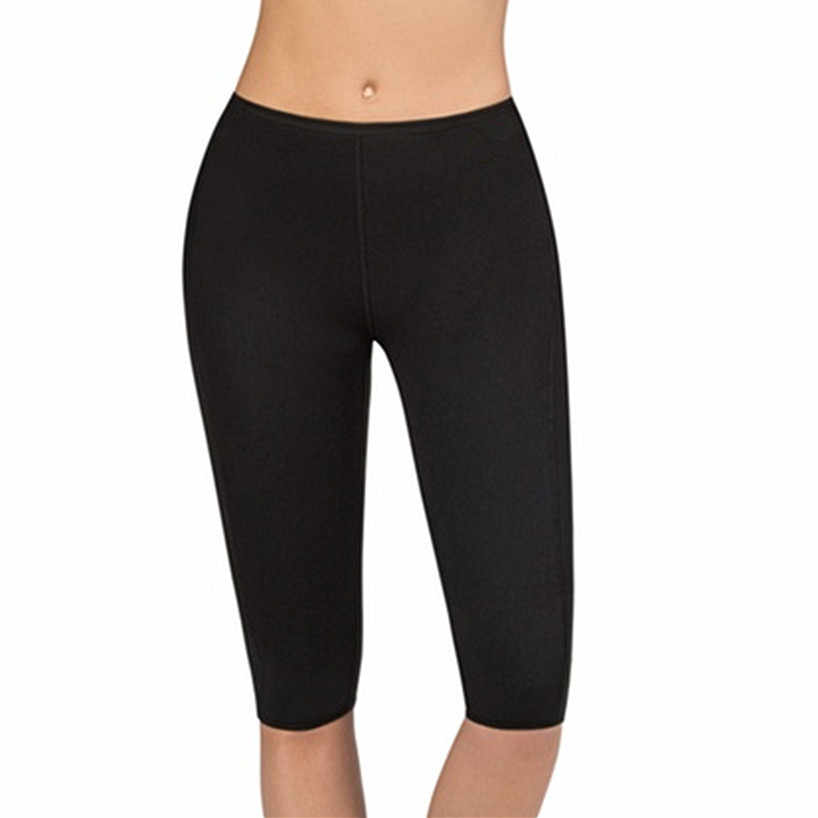 Женские Горячие Формирователи, согревающий для похудения, брюки, высокие Капри по талии, контроль, трусики, эластичный пояс для похудения, моделирующий талию