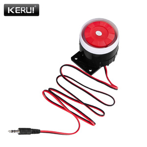 Image 3 - KERUI Mini Wired Siren Horn For Wireless Home Alarm Security System 120 dB loudly siren