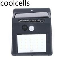 20 LED Solar Power Motion Sensor Wall Light Outdoor Waterproof Energy Saving