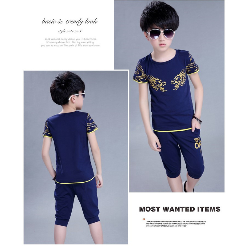 286fbc7e6 Aliexpress.com : Buy Children T Shirt + Shorts Sport Suit Boys Clothing Set Sports  Clothes for Boys Tracksuit Kids Sport Suit A Sports Outfit for Boy from ...