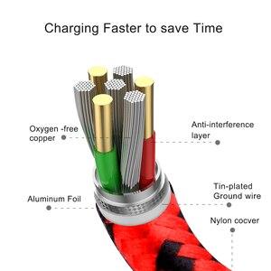 Image 4 - Cable USB tipo C de carga rápida para móvil, Cable de datos USB tipo C de 2,4 a para Samsung S9, S8 Plus, Note 9, 8, Huawei, Xiaomi Redmi Note 7