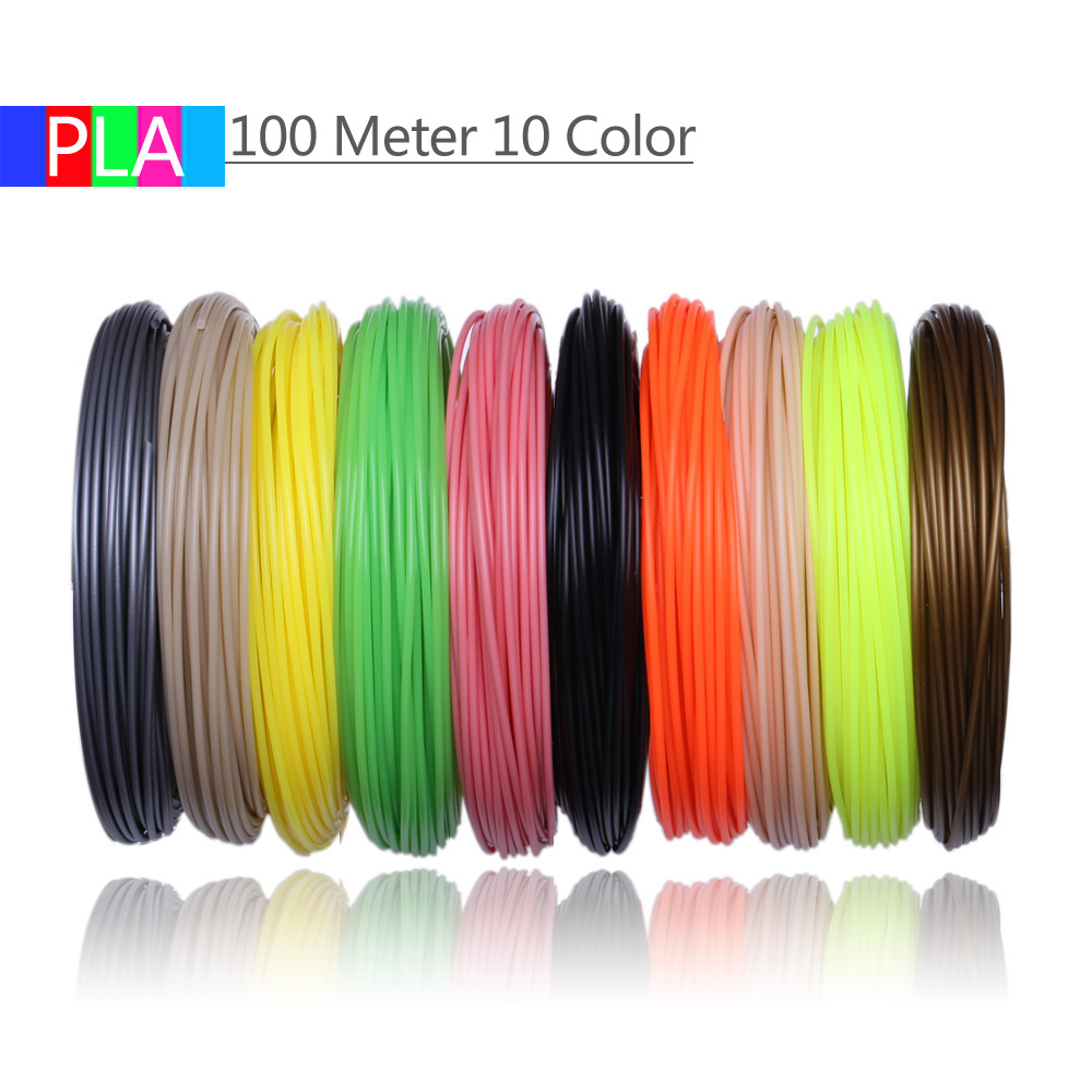 cheapest 3D Pen PLA Filament 200 Meters 20 Colors 1 75MM Threads Plastic 3 d Printer Materials For 3D Printing Pens Kid Birthday s Gifts