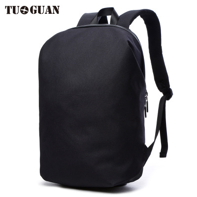 0054 TUGUAN 2017 New computer bag shoulder male Korean version travel anti-theft backpack college student bag female korean version canvas shoulder bag backpack student bag ladies cartoon cute new child birthday gift