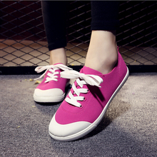 Women casual shoes zapatos mujer 2016 hot fashion women shoes lover canvas men Flats Shoes