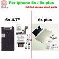 Для Apple iphone 6 s 4.7 6 s плюс 5.5 ЖК-Металлический Кронштейн + Home Button Фронтальная Камера flex кабель + Динамик полный Набор ассамблея