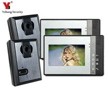 Yobang Security Yobang Security 7 inch TFT Color LCD Display Video Door Phone Intercom Doorbell,IR Night Vision Camera