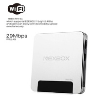 Nexbox T9 Windows10 OS Z8300 4 Núcleos 1.84 GHz Mini PC 4G + 64G H.265 1080 P HD Cajas de TELEVISIÓN Reproductor de Streaming de Medios de comunicación TV Cajas