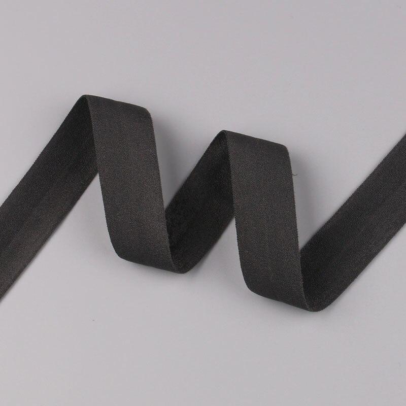 5 ярдов/Лот 20 мм ширина 34 цвета эластичная лента использование для diy аксессуары и одежда галстук лента для волос - Цвет: 22