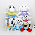 Undertale toys Sans Papyrus Frisk Chara Frisk Asriel Napstablook Toriel Temmie Plush stuffed doll toy Kids gift doll toy