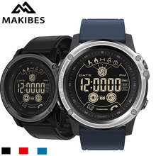 Makibes GK01 Men's Sports Smart Watch EX26 5ATM Waterproof Sport Watches Bluetooth 4.0 Remote Control wristwatch for iOS Android