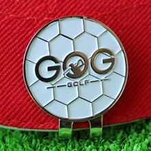 GOG znacznik piłki golfowej z klipsem Hat bezpłatna wysyłka Alloy profesjonalne szkolenia AIDS akcesoria tanie tanio M1MJ030