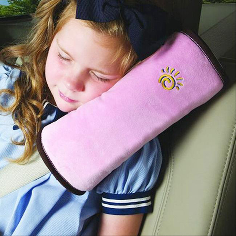 soft kids car auto safety seat belts pillow cover for automobiles shoulder pad protection newest cushion