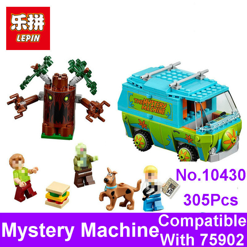 2017 LEPIN New BELA 10430 Scooby Doo The Mystery Machine Bus Figure Set Building Bricks Blocks Compatible 75902 Toy For Children чехлы для телефонов with love moscow силиконовый дизайнерский чехол для meizu m3s перья