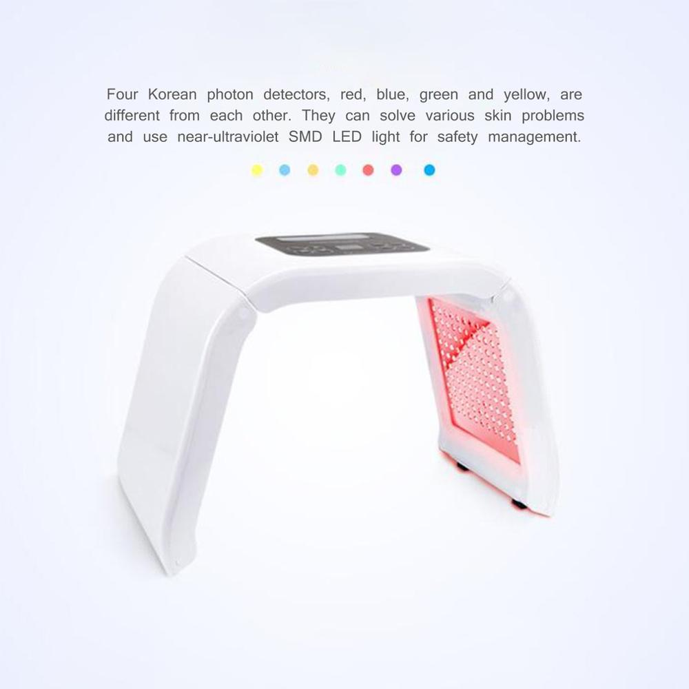 Image 3 - 7 Colors Professional PDF Led Mask Facial Light Therapy Skin Rejuvenation Device Spa Acne Remover Anti Wrinkle Beauty Treatment-in Face Skin Care Tools from Beauty & Health