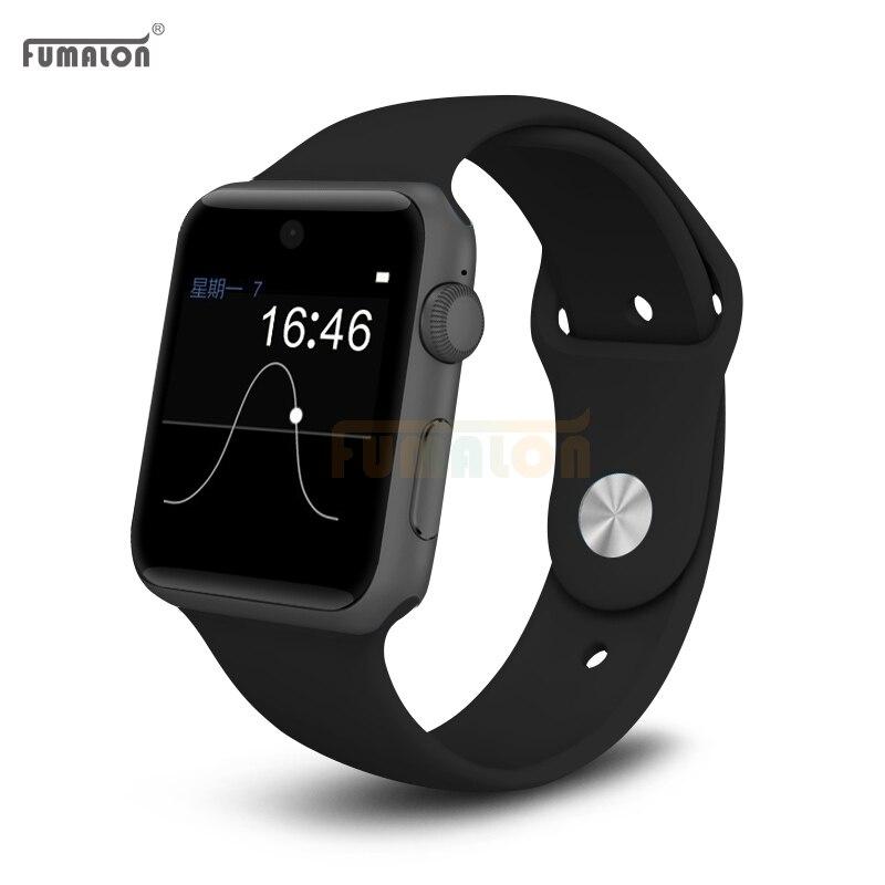 Fumalon fm09 bluetooth tarjeta sim soporte deporte smartwatch smart watch notifi