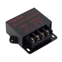DC 24V to DC 12V 5A 60W Transformer Converter Step Down Buck Module Voltage Reducer Switching Power Supply for LED Strip Solar switching power supplies dcdc 24v to 12v 2 5a isolated supply power module dc dc converter low ripple free shipping