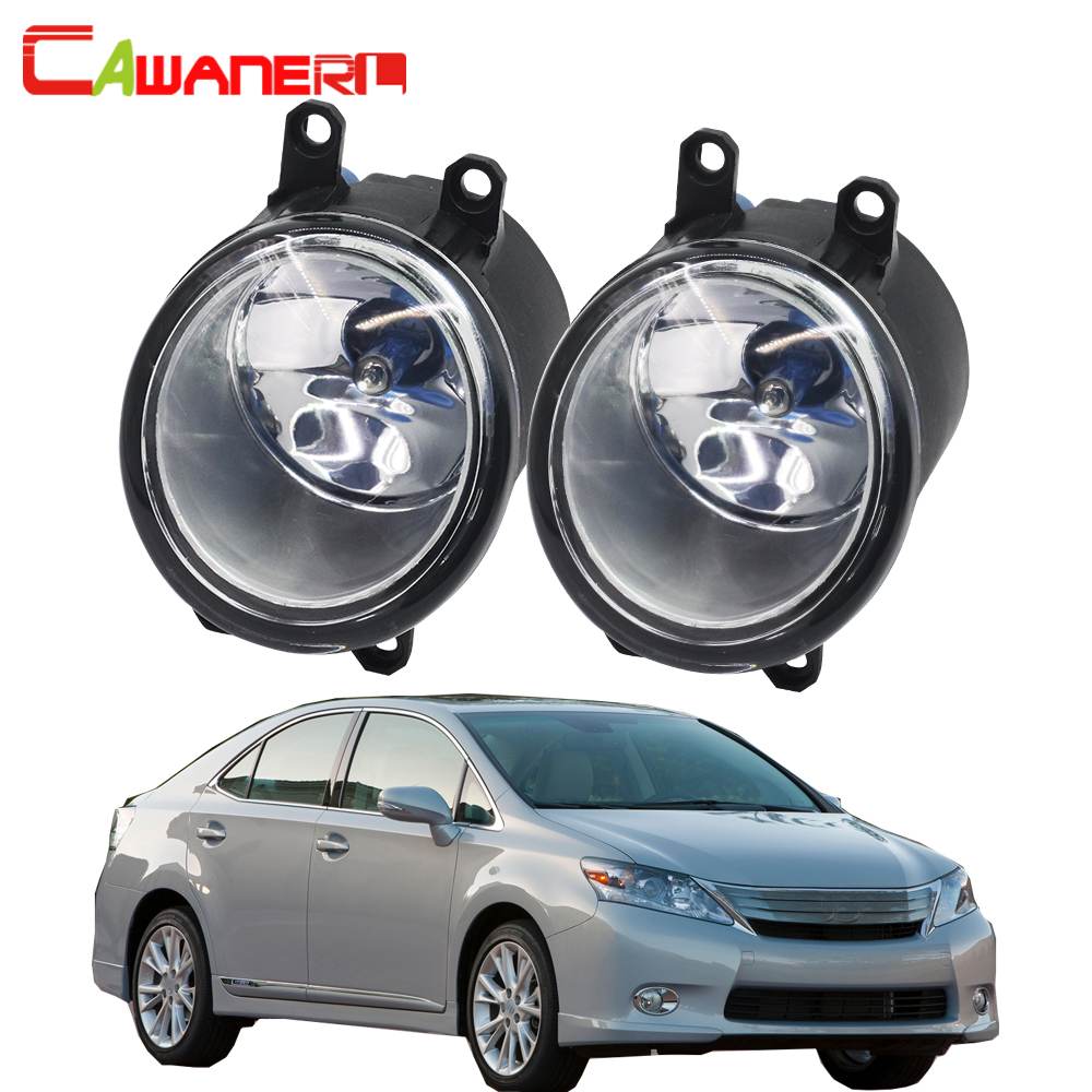 Cawanerl For 2010-2012 Lexus HS250h 100W H11 Car Light Halogen Fog Light Daytime Running Lamp DRL Styling High Power 2 Pieces фонарик hs 802 250 uniquefire 3000mah hs 802