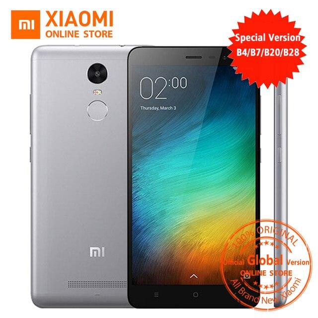 Официальный глобальный версия xiaomi redmi note 3 pro prime специальный издание Смартфон 5.5 Дюймов 3 ГБ 32 ГБ 16.0MP и B4 B20 B28 LTE
