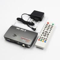Digital HDMI DVB T T2 TV Box VGA AV CVBS TV Receiver Converter with USB Socket dvb t2 Tuner for MPEG 2 With Remote Control