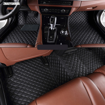 Special custom made car floor mats for Renault Fluence Latitud Koleos Laguna Megane cc Talisman leather Anti-slip