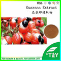 Hot selling Guarana Seed Extract 20:1 Caffeine powder 500g/lot free shipping