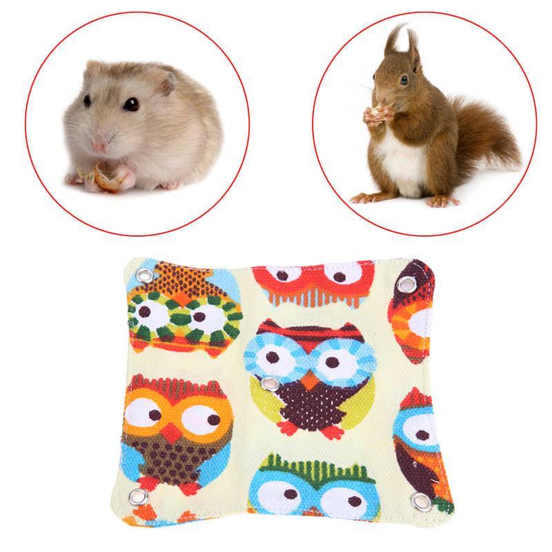 Кошка собака клетка для животных дом гамак мягкая кровать животное Подвеска для хомяка хорек с подогревом дома пещера s m