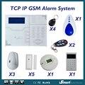 Новейшая Беспроводная GSM сигнализация для домашнего дома охранная система охранного охранника дистанционное управление с помощью приложе...