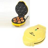 1PC FS-508N 750W 양면 난방 전체 자동 전기 도넛 메이커 계란 케이크 메이커 공 금형 기계