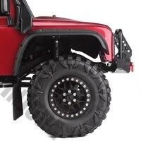 INJORA 4PCS 2.2 Rubber Mud Grappler Tires 120*43MM for 1:10 RC Rock Crawler Axial SCX10 SCX10 II 90046 90047 Traxxas TRX-4 TRX4 5
