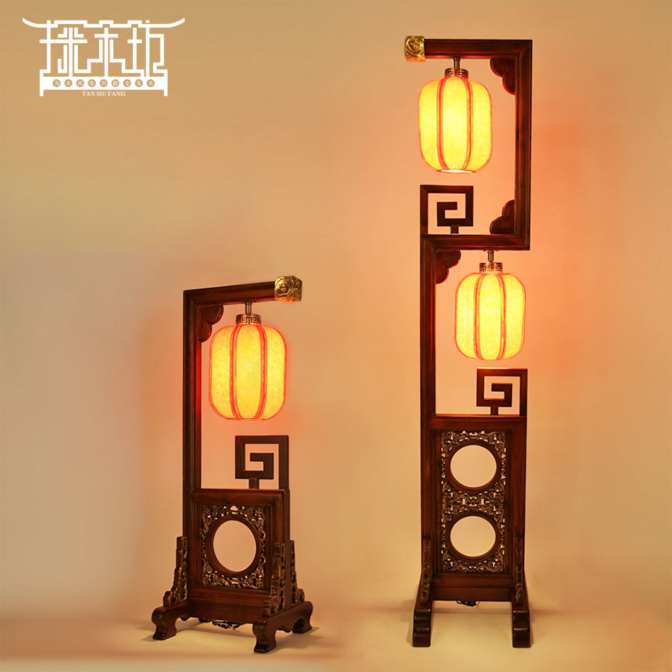 Chinese Classical Real Wood Font