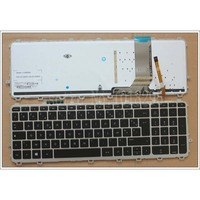 Teclado Do Portátil francês para HP ENVY TouchSmart 15 J 15T J 15Z J 15 J000 15t j000 teclado 15z j000 15 j151sr com retroiluminado FR keyboard for hp laptop keyboard for hp laptop keyboard -