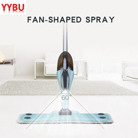YYBU 500ML Home Spray Mop Floor Cleaning Steam Mop Floor Cleaner Automatic Floor Flat Mop Cleaning Tool House Microfiber Cloth