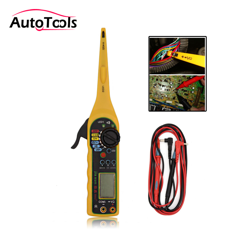 Multi-function car Circuit Tester Multimeter Lamp 3 in 1 Car Repair Automotive E