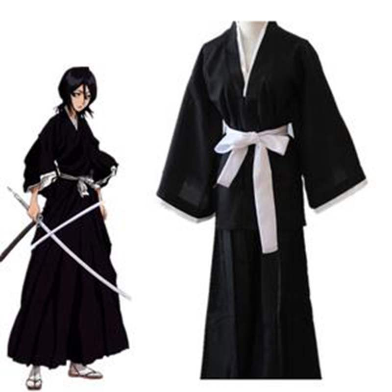 New Costume Cosplay Bleach Kurosaki Ichigo Rukia Kuchiki Anime Japanese For Adult Women Men Party Role Play