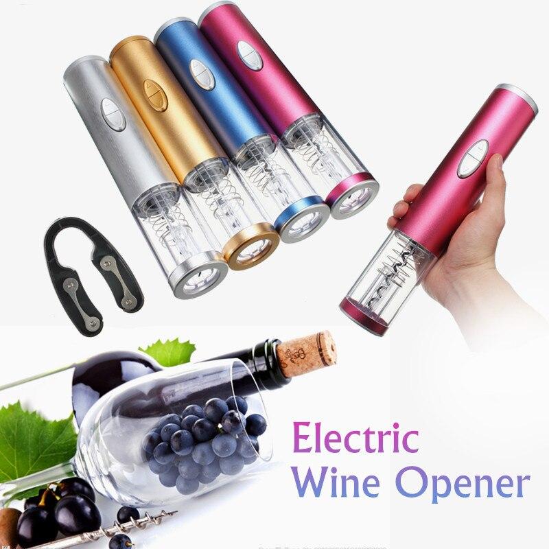 5W Electric Wine Bottle Opener Automatic Cordless Wine Corkscrew Bottle Opener Tool Foil Cutter