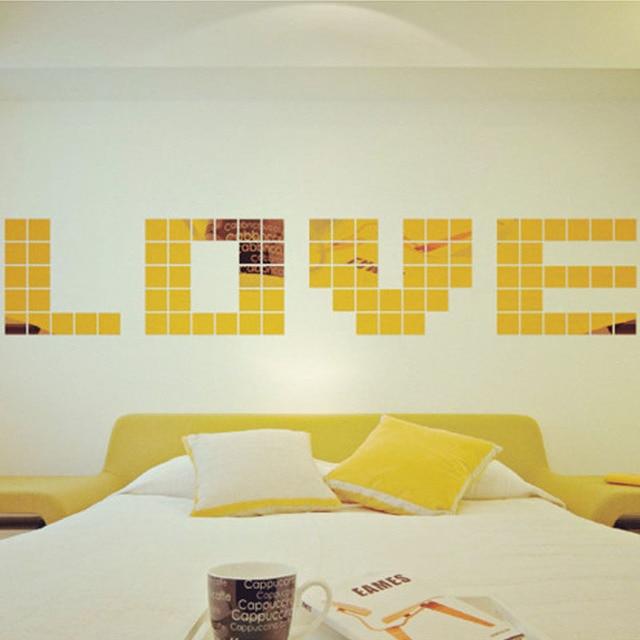 Aliexpress.com : Buy 50 Piece With Acrylic Glue Stick Tile 3D Wall ...