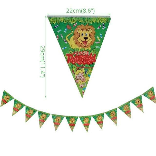 1 set banner Monkey 1st birthday decorations 5c64f9ae5e140
