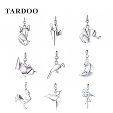 Tardoo Genuine 925 Sterling Silver DIY Pendants for Women Statement Cute Animal Pendants Silver 925 jewelry Christmas Gift