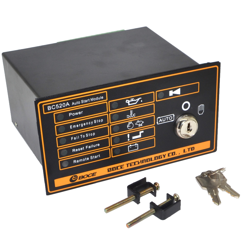 US $132 05 5% OFF New BC520A Auto Start Generator Controller Board Key  Start Generator Contol Module Free Shipping with Track Number 12002857-in