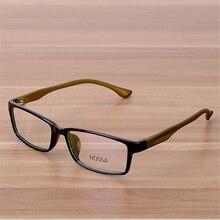 NOSSA Clear Fashion Glasses Students Myopia Glasses Frame Women And Men's Elegant Prescription Eyewear Frames Unisex Spectacles