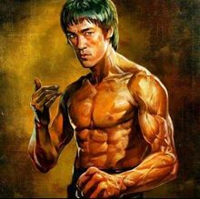 5D Mosaic Picture Diamond Embroidery Bruce lee Diy  Painting Cross Stitch Patterns Square Needlework